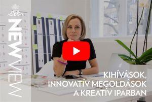 HFDA Academy: New View   11. epizód   Kihívások, Innovatív megoldások a kreatív iparban