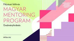 Pályázati felhívás eredménye 2019. évi Magyar Mentoring Program