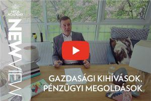 HFDA Academy: New View   3. epizód   Gazdasági kihívások, pénzügyi megoldások